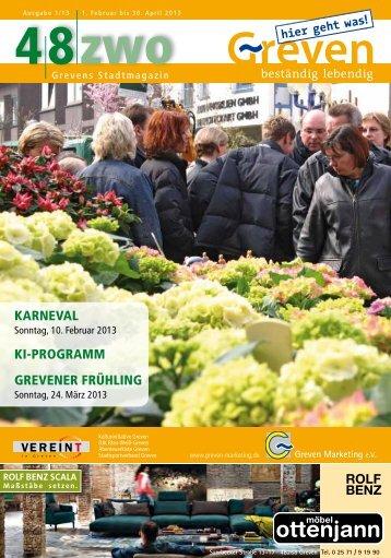 48zwo - Ausgabe 1/2013 - Stadt Greven
