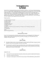 Verwaltungsgebührensatzung ... - Stadt Greven