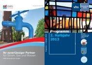 VHS-Programm Herbst - Winter 2013 (PDF 3.48 MB) - Stadt ...