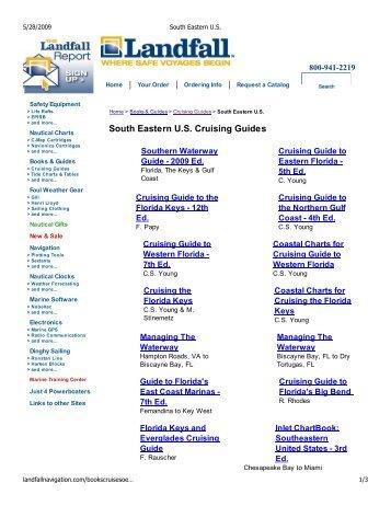 Waggoner cruising guide 2009
