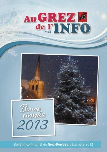 Décembre 2012 - Grez-Doiceau