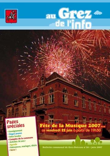 Juin 2007 - Grez-Doiceau