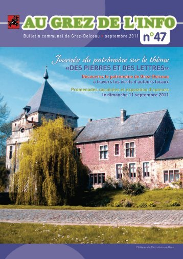 Septembre 2011 - Grez-Doiceau
