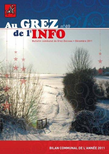 Décembre 2011 - Grez-Doiceau