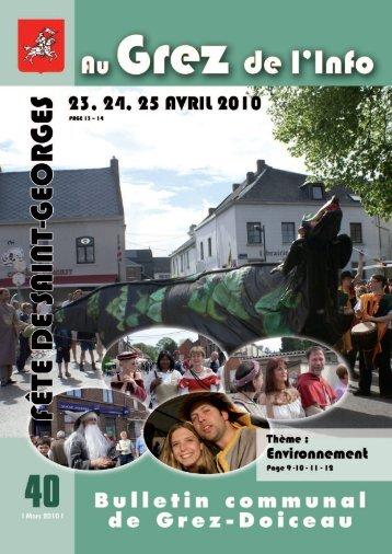 Mars 2010 - Grez-Doiceau