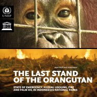 THE LAST STAND OF THE ORANGUTAN - GRID-Arendal