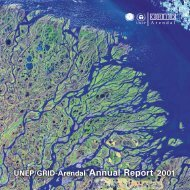 Annual Report 2001 - GRID-Arendal