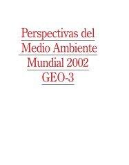 Perspectivas del Medio Ambiente Mundial 2002 GEO-3