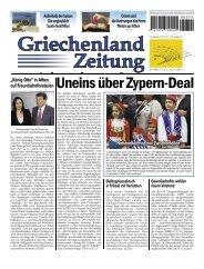Uneins über Zypern-Deal - Griechenland-Net