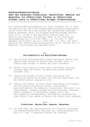 Gefahrenabwehrverordnung über das unbefugte ... - Stadt Griesheim