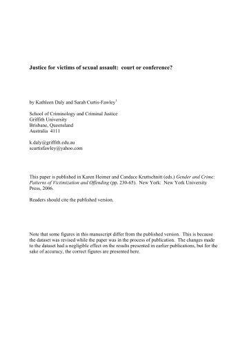 restorative justice paper