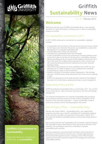 Issue 1 - February 2012 (PDF) - Griffith University