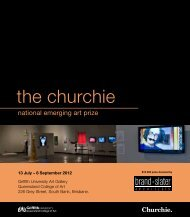 2012 Catalogue - the churchie national emerging art prize