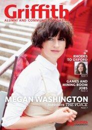 alumni and community magazine - Griffith University