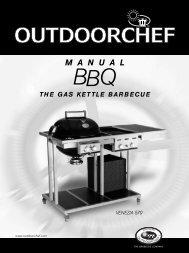 Bedienungsanleitung Venezia 570 - outdoorchef grill shop wohnkultur