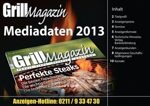 GrillMagazin Mediadaten