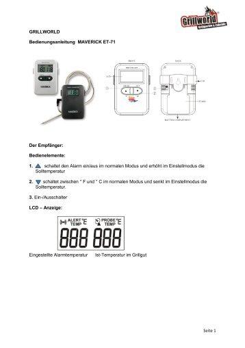 PDF anzeigen - Grillworld