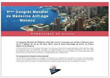 CP 9 ANTI AGE - Grimaldi Forum
