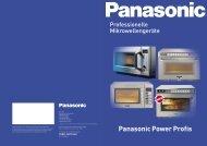 Panasonic Power Profis - Grimm-Gastrobedarf