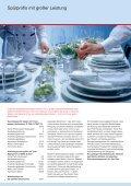 Gewerbegeschirrspüler Glanzleistungen für die Gastronomie - Seite 2