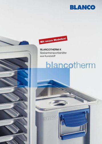 BLANCOTHERM K Speisentransportbehälter aus Kunststoff Mit ...