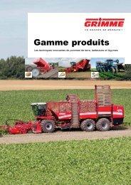 Toute la gamme des produits Grimme (PDF)