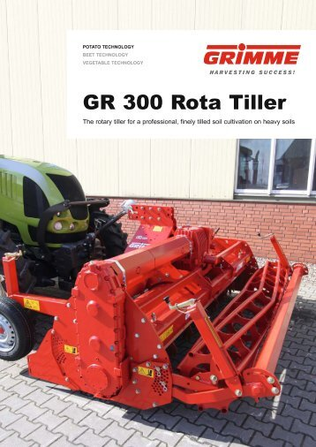 GR 300 Rota Tiller