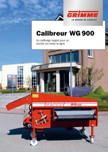 Calibreur WG 900