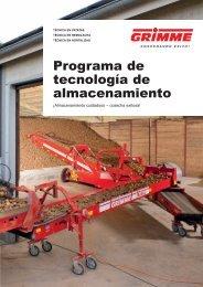 Programa de tecnología de almacenamiento