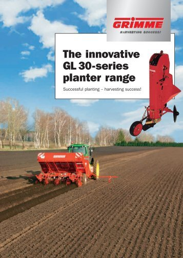 The innovative GL 30-series planter range