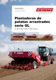 Plantadoras de patatas arrastradas serie GL