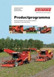 Grimme productprogramma