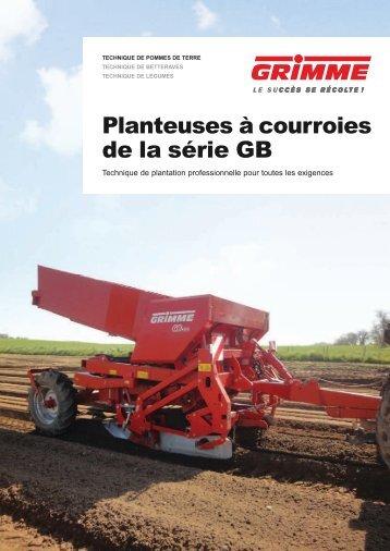 Planteuses à courroies de la série GB