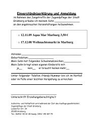Okt. Dez.09 - der Stadt Grünberg