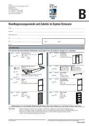 Standbegrenzungswände und Zubehör im System ... - GrindTec