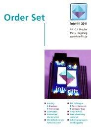 Order Set - Interlift