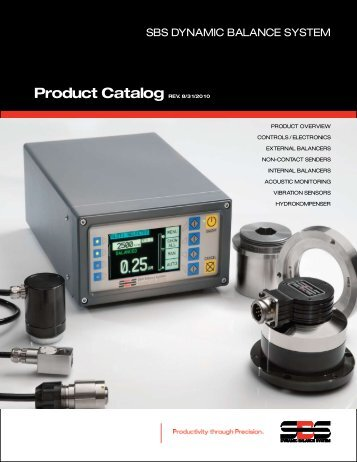 SBS Product Catalog - Dynamic Balance Systems
