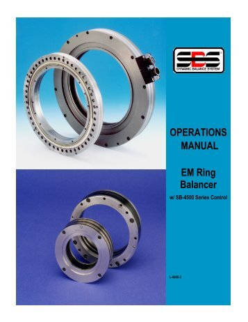 SB-4500 EM Ring English - Dynamic Balance Systems