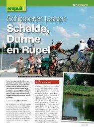 Schelde, Durme en Rupel - Grinta!