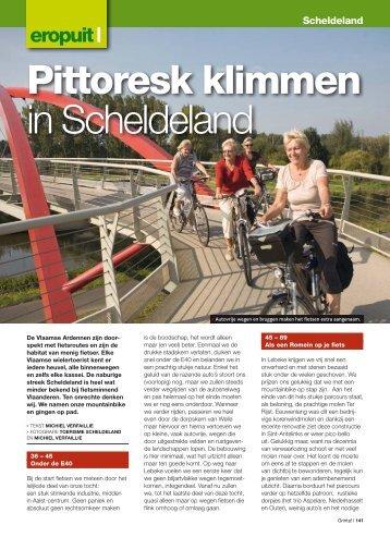 Pittoresk klimmen in Scheldeland - Grinta!