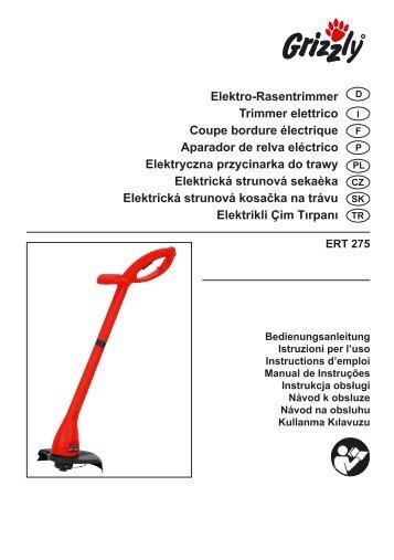 Elektro-Rasentrimmer Trimmer elettrico Coupe bordure électrique ...