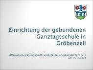 Praesentation fuer 14 11 2012 Einrichtung von GZT in ... - Gröbenzell