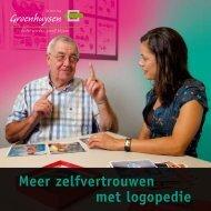 Meer zelfvertrouwen met logopedie - Stichting Groenhuysen