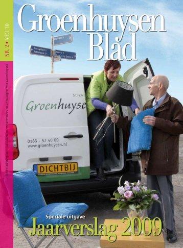 Jaarverslag 2009 - Stichting Groenhuysen