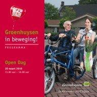 in beweging! - Stichting Groenhuysen