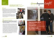 Editie januari, februari en maart 2012 - Stichting Groenhuysen