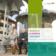 Product- en dienstencatalogus - Stichting Groenhuysen