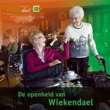 Download de brochure Wiekendael.