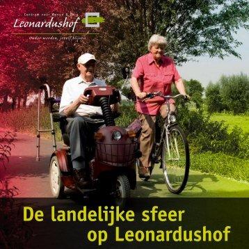 Download de brochure Leonardushof.