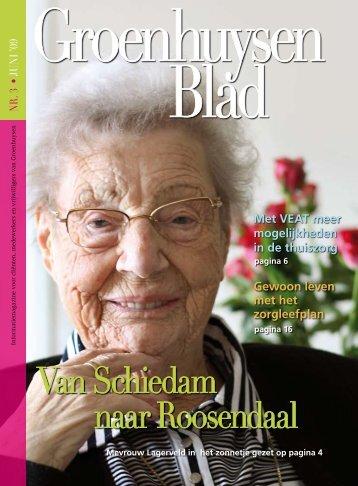 Van Schiedam naar Roosendaal - Stichting Groenhuysen